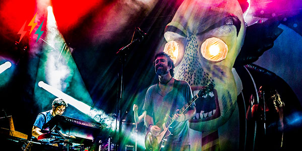 El rock progresivo de Pink Tones, en el Festival Cultura Inquieta 2020