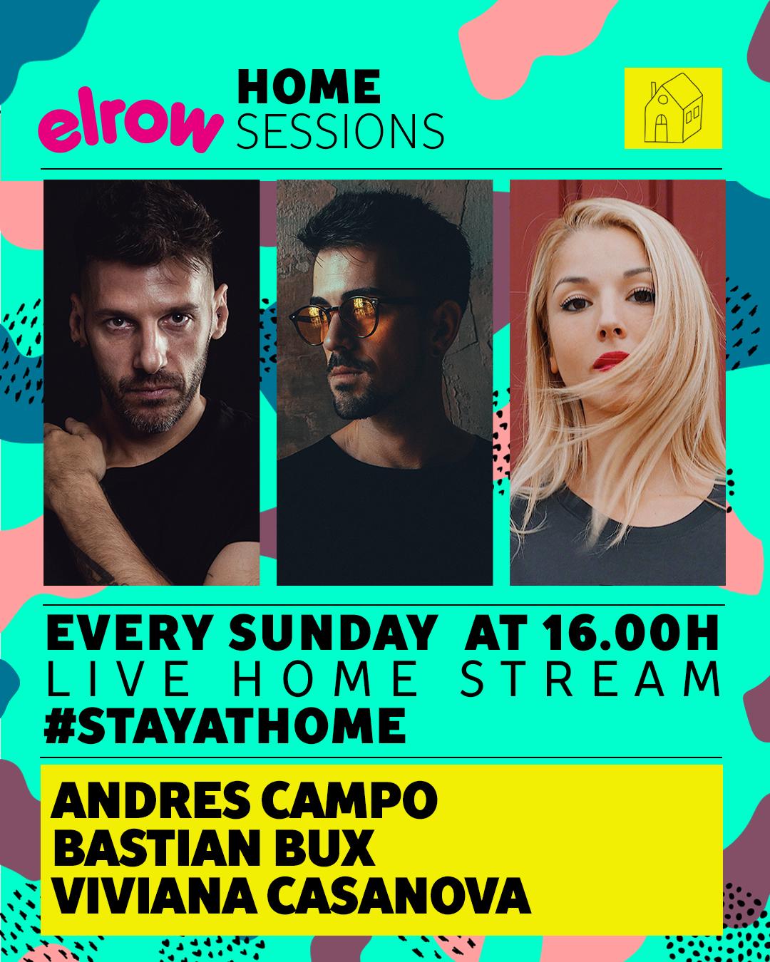 Elrow se apunta a las home sessions, #yomequedoencasa