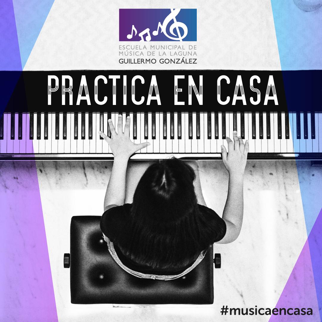 La Escuela Municipal de Música Guillermo González forma a sus alumnos a distancia