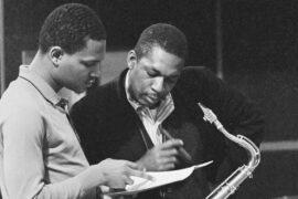 John Coltrane (right) with McCoy Tyner