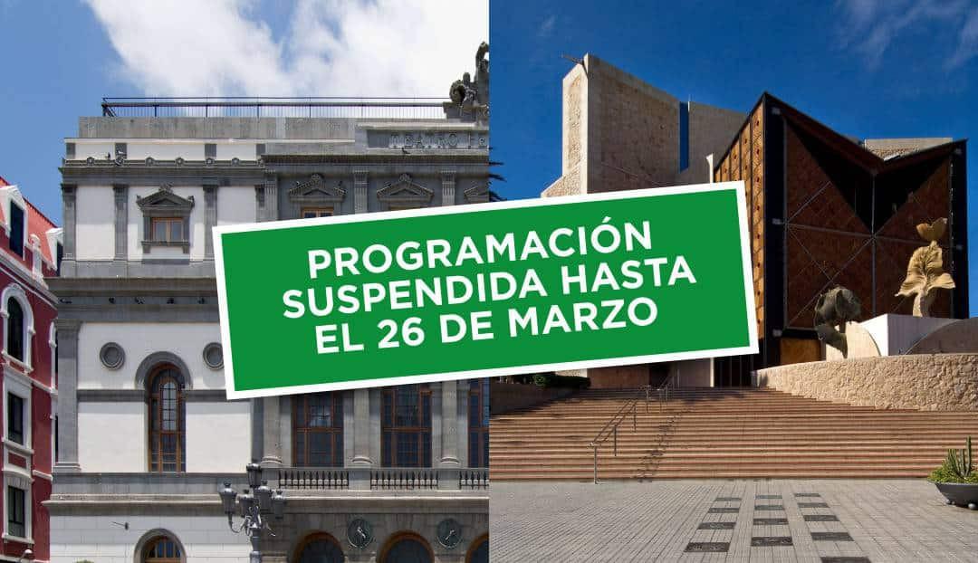 Suspensión en el Pérez Galdós y el Alfredo Kraus de los espectáculos hasta el 26 de marzo