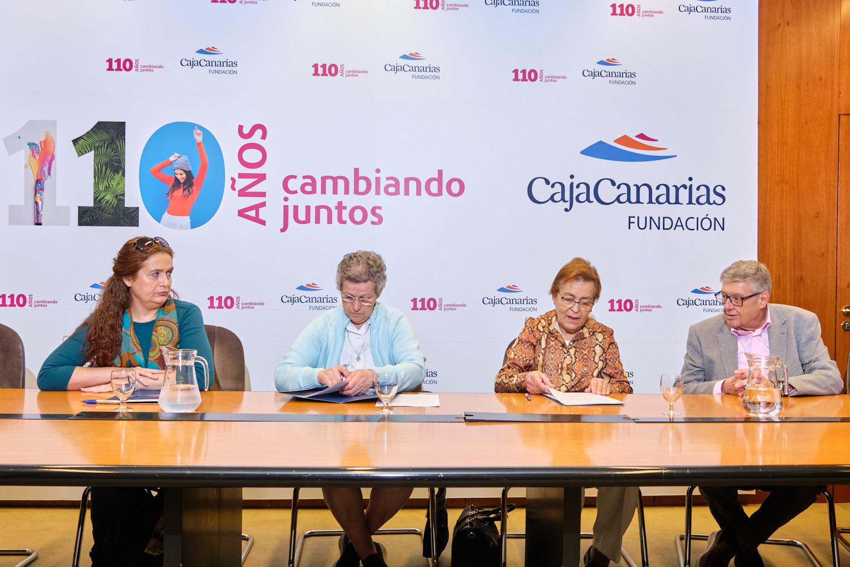 La Fundación CajaCanarias aumenta su respaldo a los comedores sociales de Tenerife