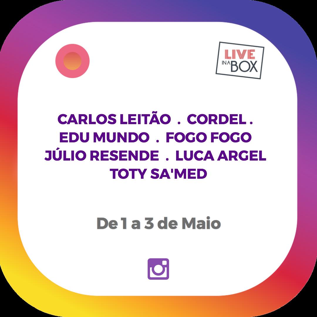 Fado in a Box, iniciativa de música en directo a través de instagram