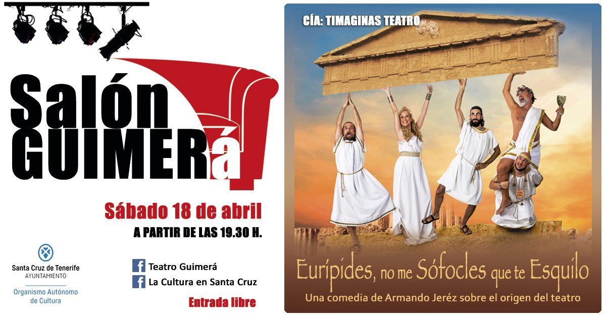 El Ayuntamiento de Santa Cruz pone en marcha la iniciativa Salón Guimerá