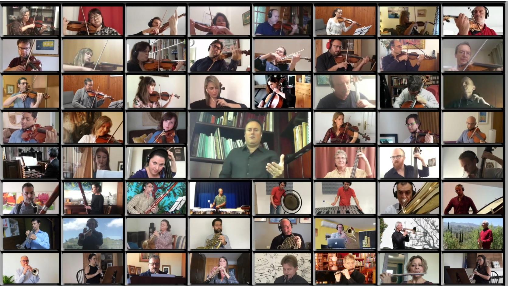 La Orquesta Filarmónica de Gran Canaria realiza un video viral desde casa