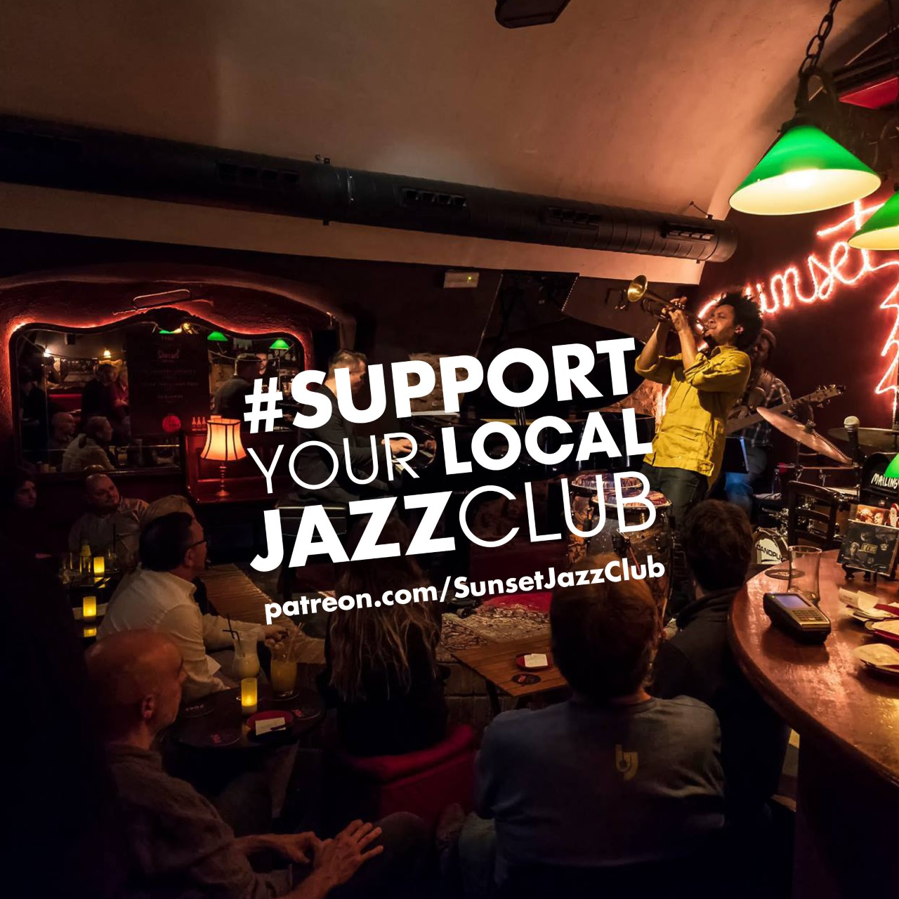 Comunicado de apoyo a los clubs de jazz, Sunset Jazz Club y otras iniciativas