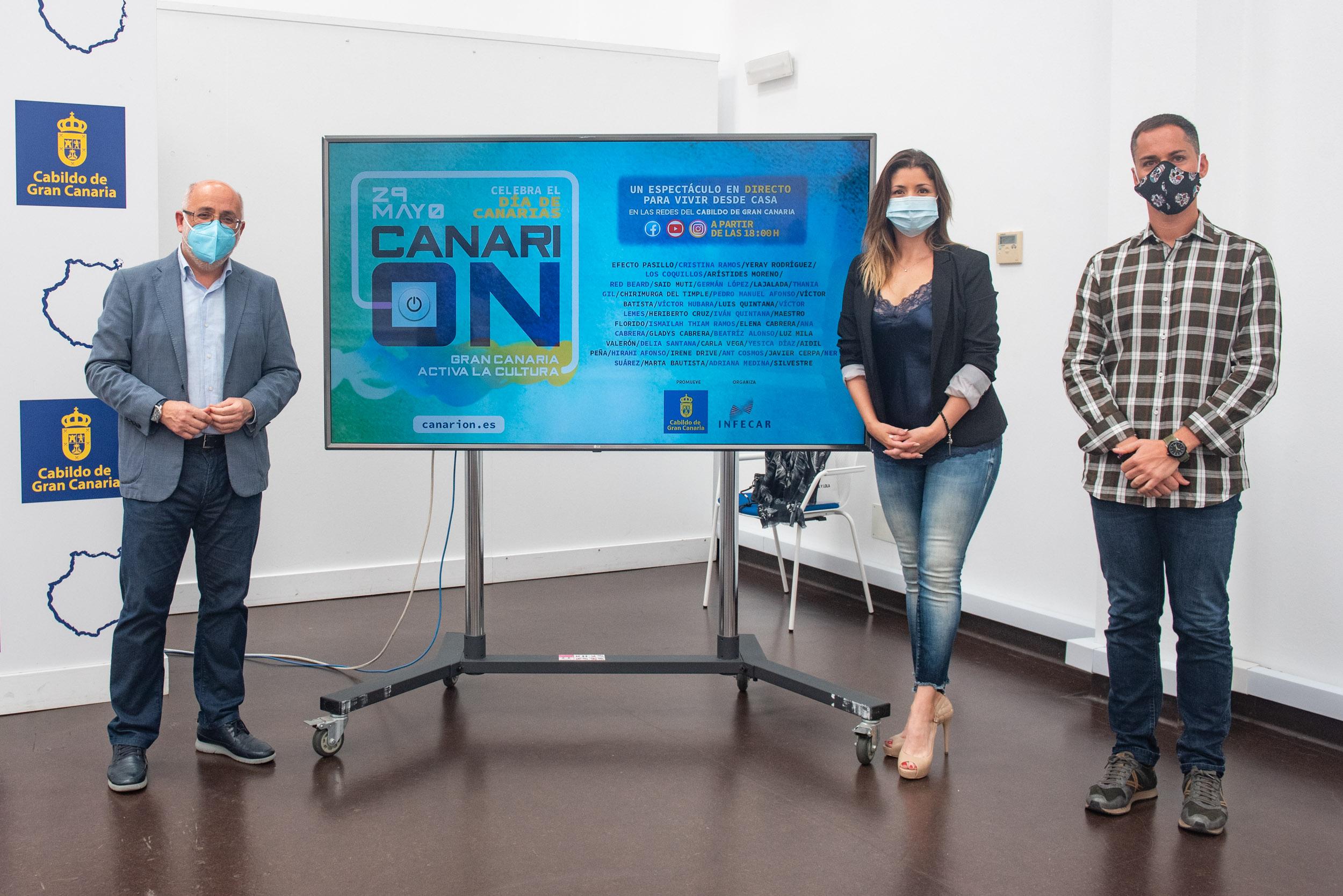 Gran Canaria acoge el primer macrofestival online de Canarias