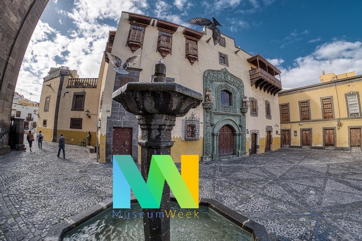 Se celebra en la Casa Colón la MuseumWeek 2020