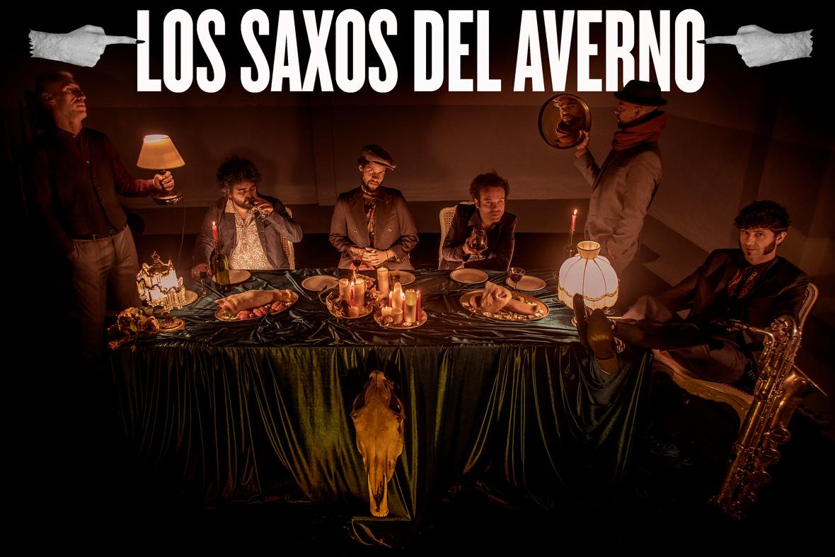 Nuevo ep de Los Saxos del Averno, Devil Inside