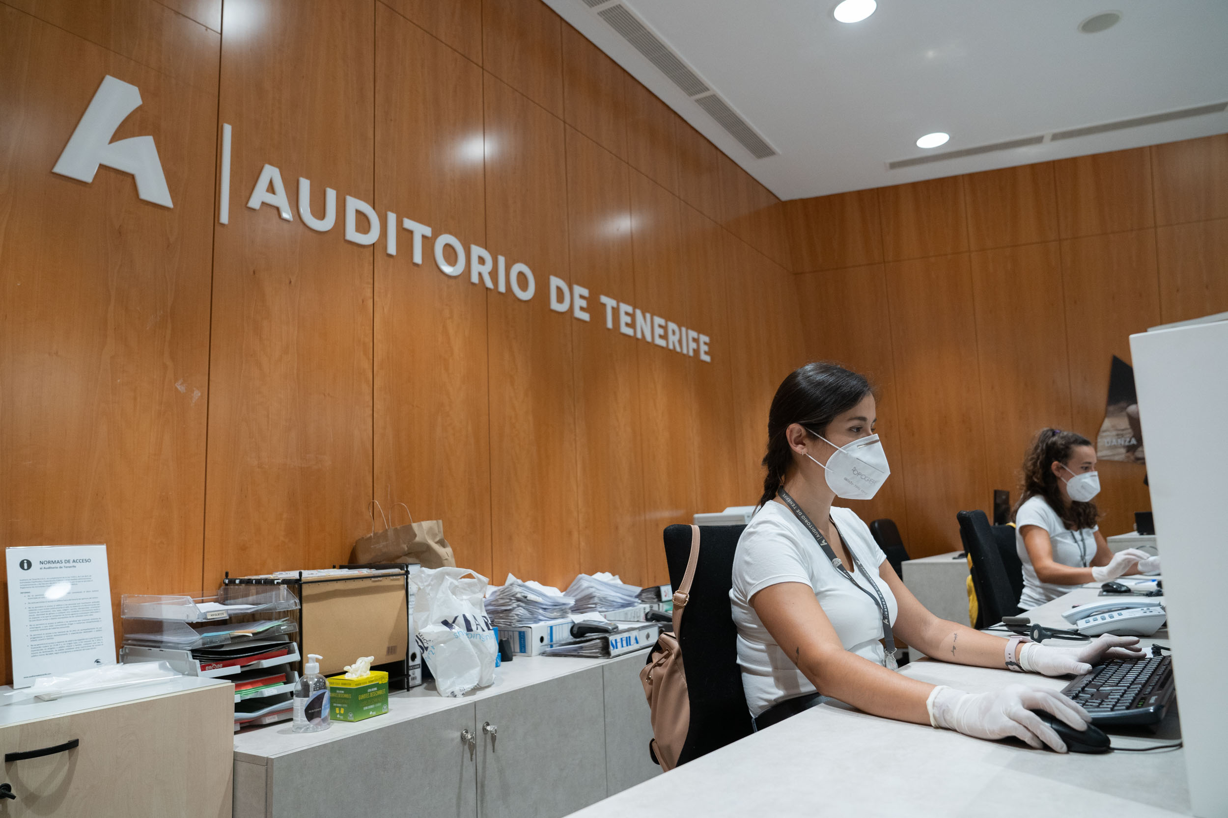Auditorio de Tenerife reabre mañana la taquilla con cita previa