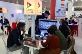 Canarias en Cannes en una edición anterior