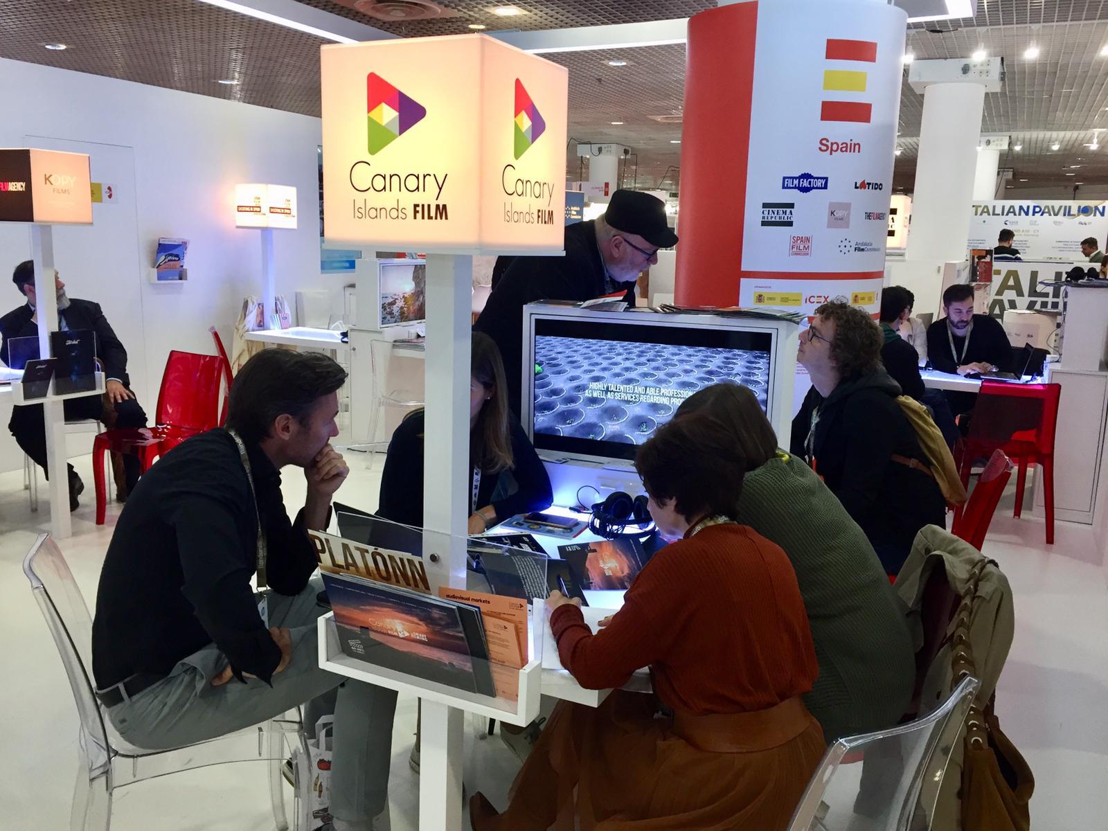 Canarias participa en el mercado de Cannes