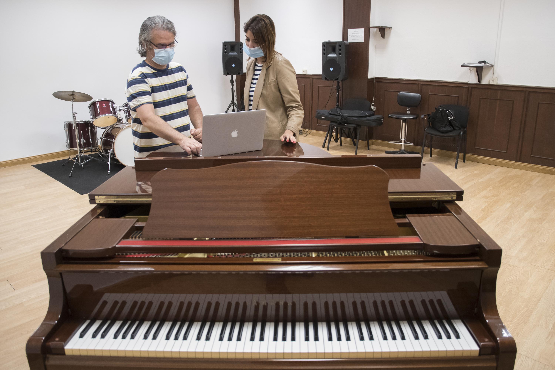 La Laguna actualiza el equipamiento de la Escuela Municipal de Música