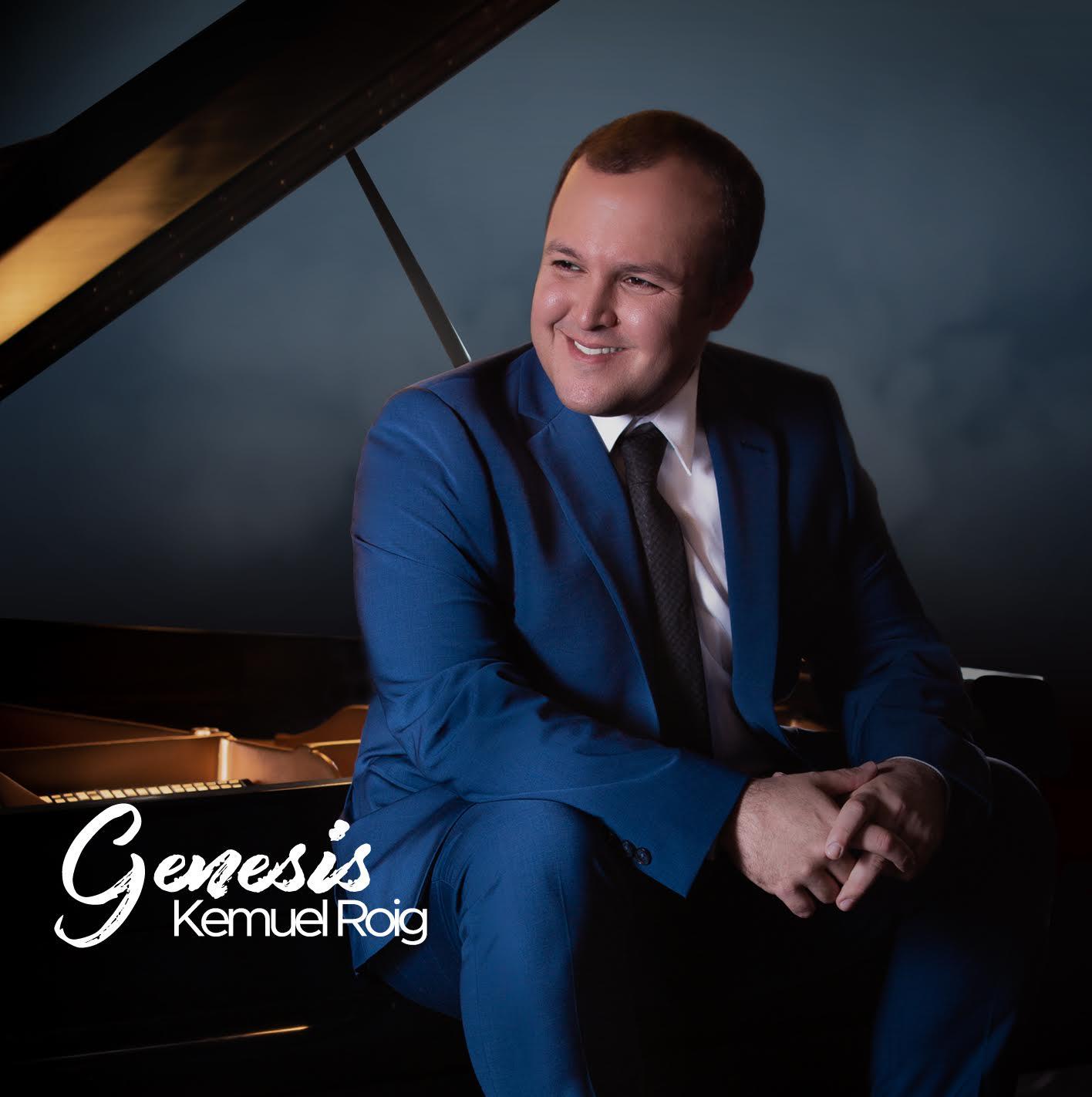 Kemuel Roig presenta su nuevo disco Genesis