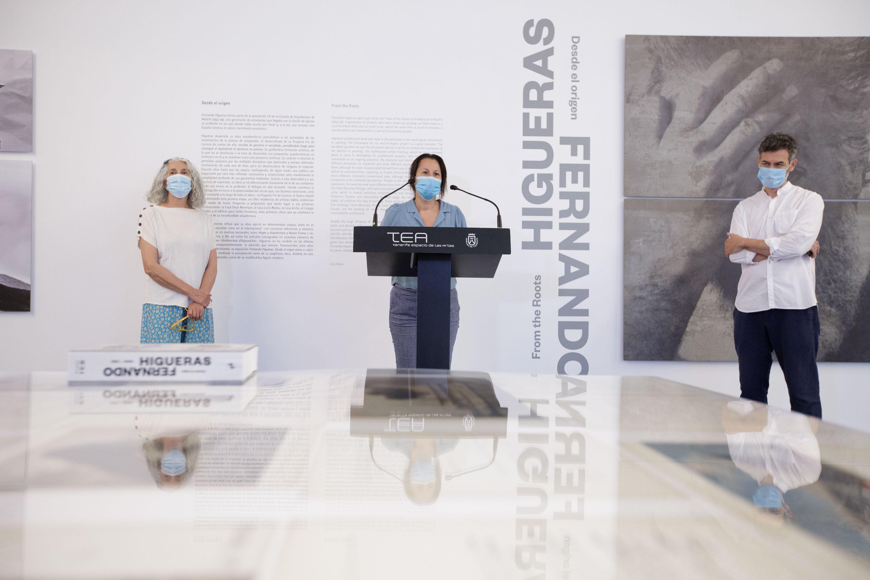 La exposición Desde el origen de Fernando Higueras, en el TEA