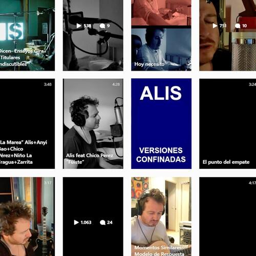 Alis lanza Versiones Confinadas, su nuevo disco recopilatorio