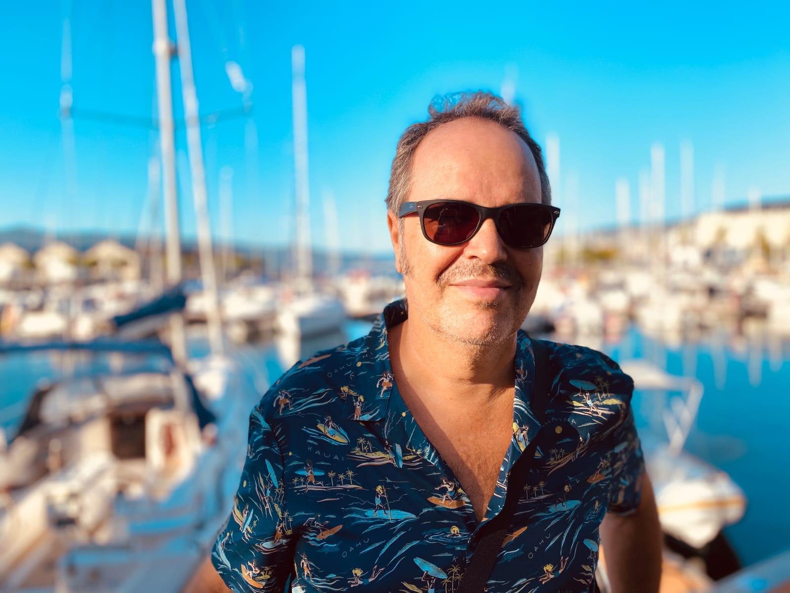 Polo Ortí: «Los músicos canarios son de los mejores del mundo»