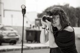 La fotógrafa Sheila Melhen