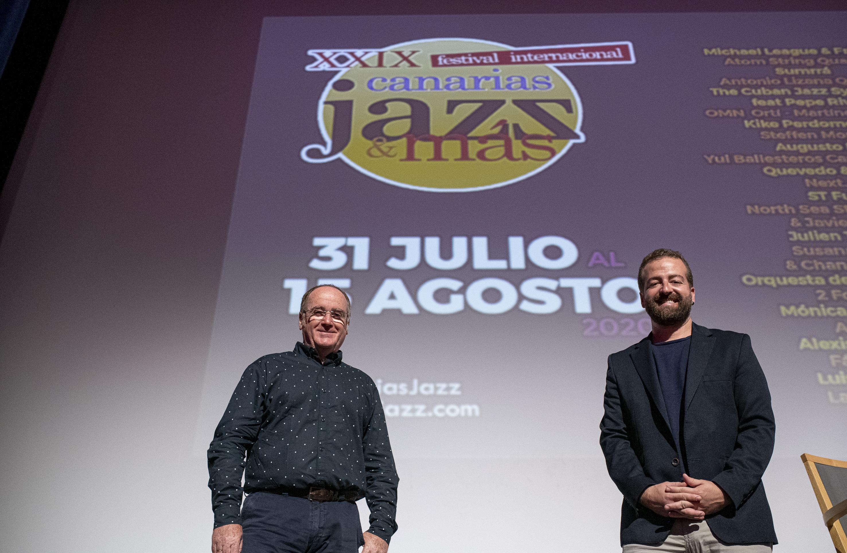 La 29ª edición del Festival Canarias Jazz & Más llegará también a Lanzarote
