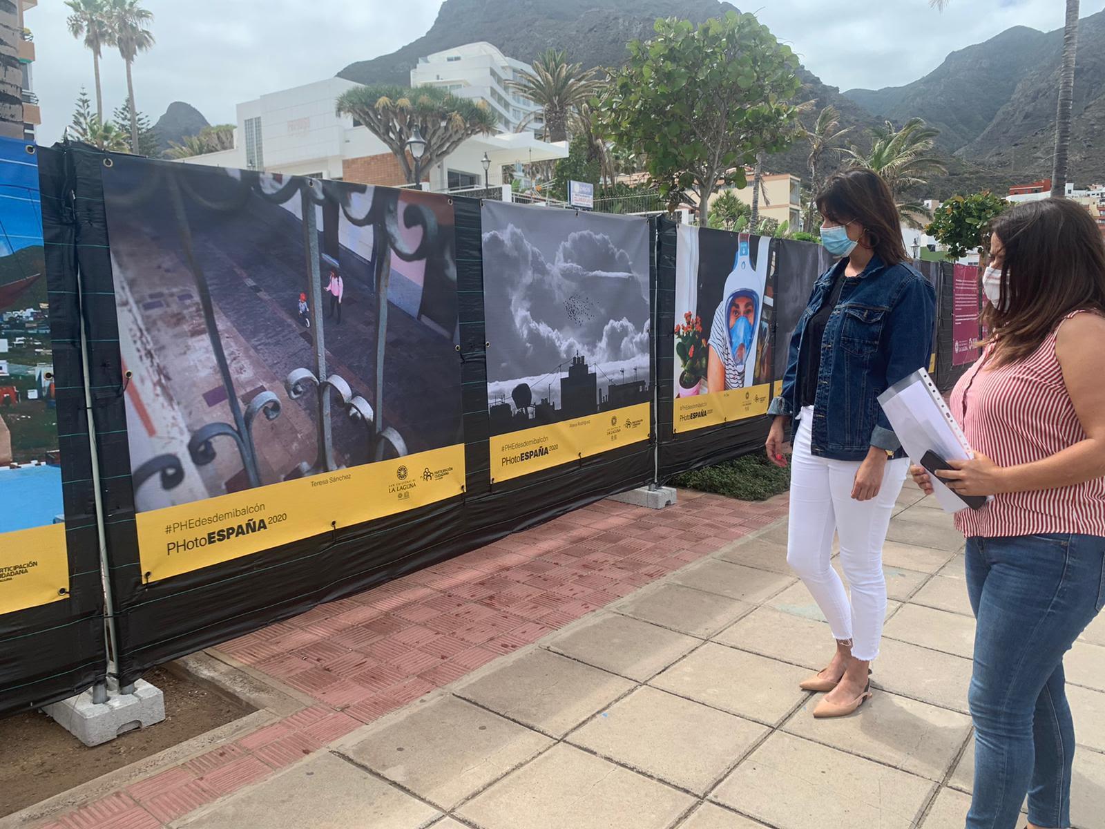 Punta del Hidalgo acoge hasta el 31 de julio la exposición #PHEdesdemibalcón