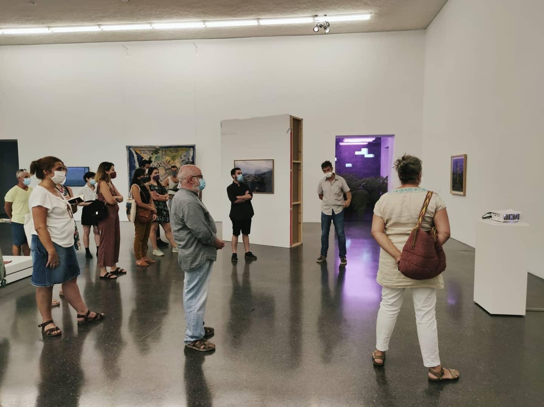 TEA Tenerife ofrece una visita guiada a la muestra El sauce ve de cabeza la imagen de la garza