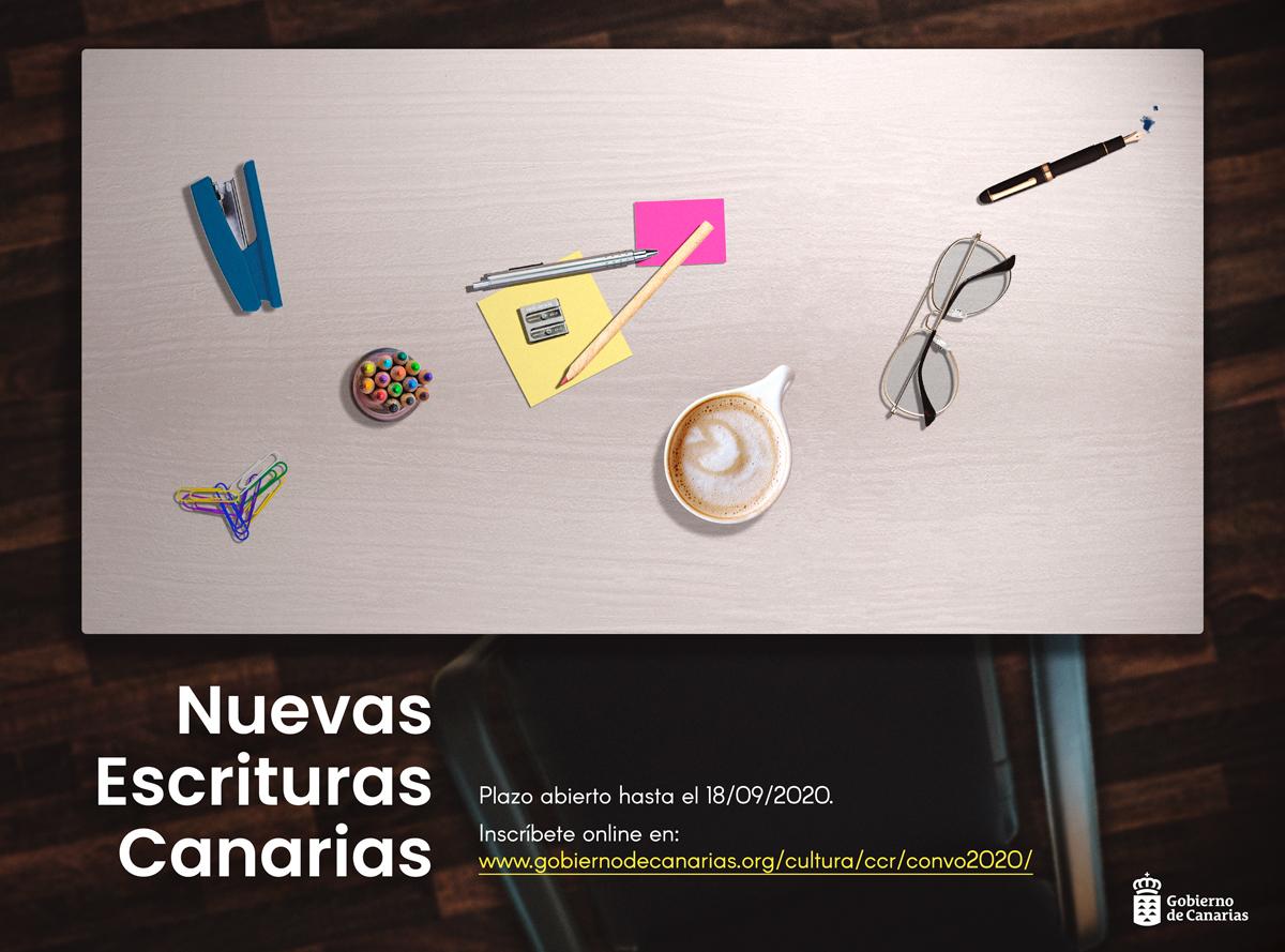 Cultura del Gobierno convoca una nueva edición del concurso literario 'Nuevas Escrituras Canarias'