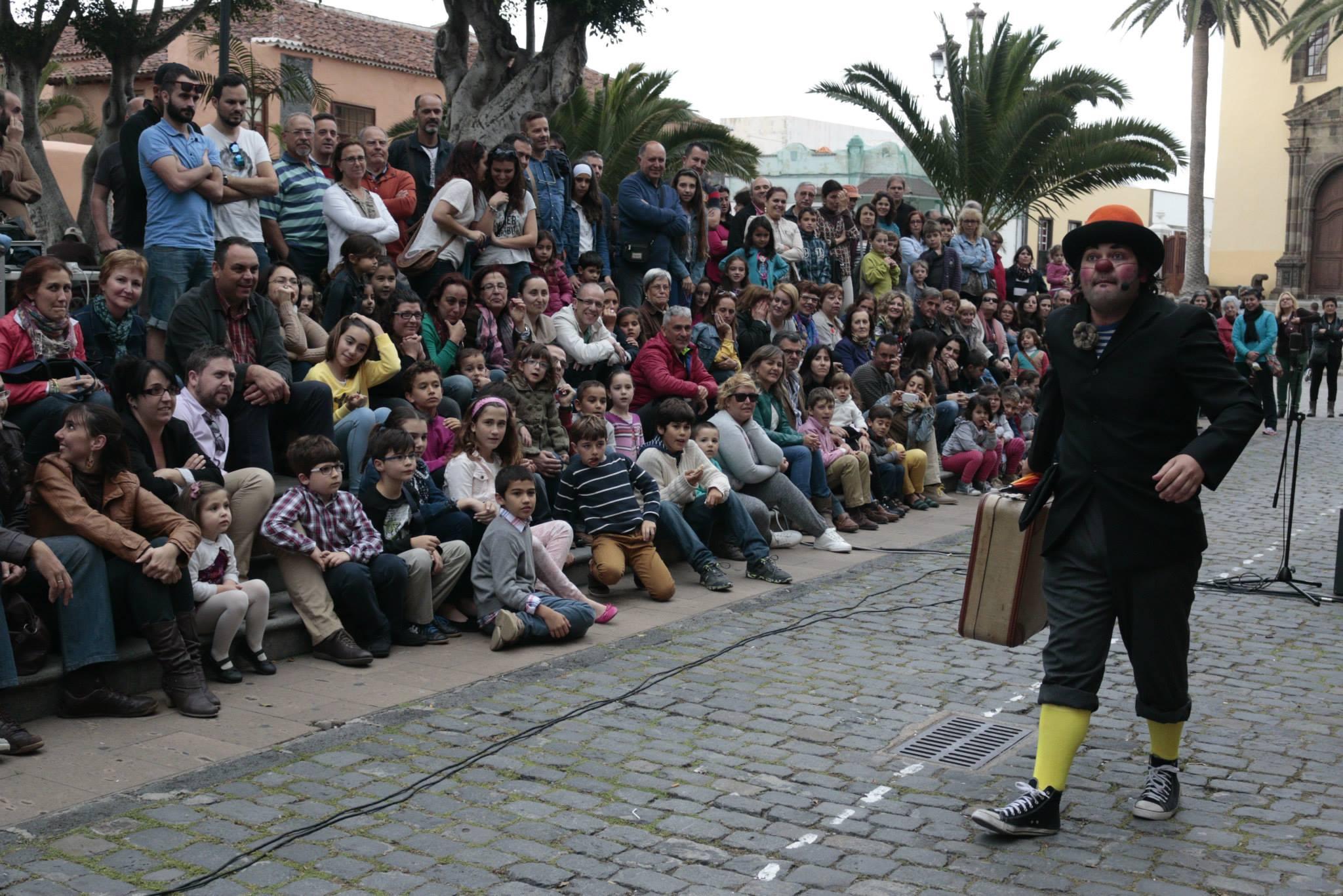 Reymala trae la diversión al Teatro Unión Tejina con el espectáculo Clowneando