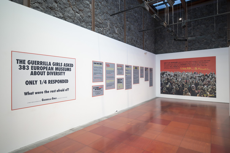 La Fundación CajaCanarias reabre su Espacio Cultural La Laguna Contando y recontando con las Guerrilla Girls