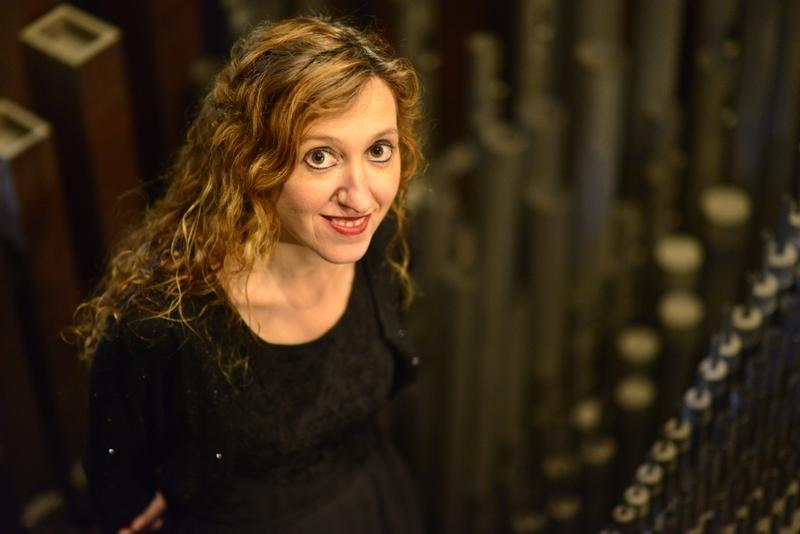 Loreto Aramendi ofrece este domingo un concierto matutino con el órgano sinfónico