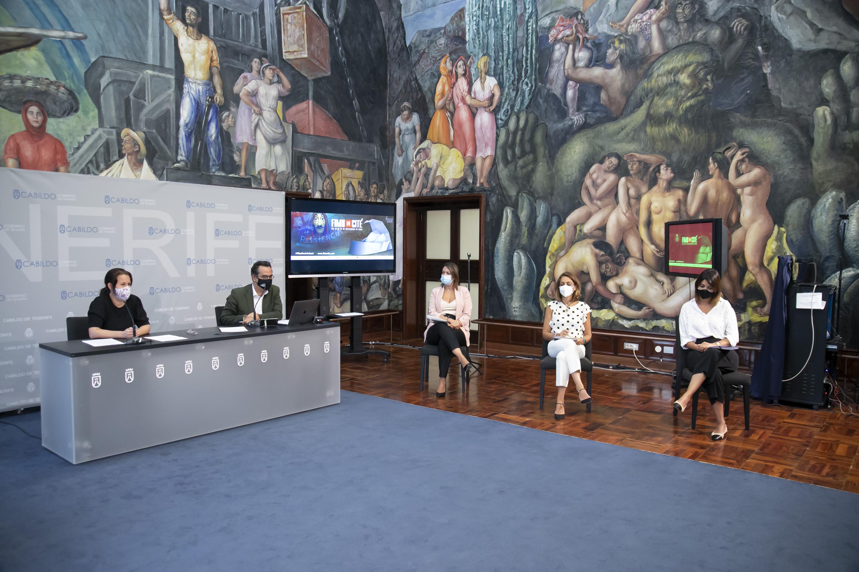 Fimucité convertirá el Auditorio de Tenerife en La Casa de Papel