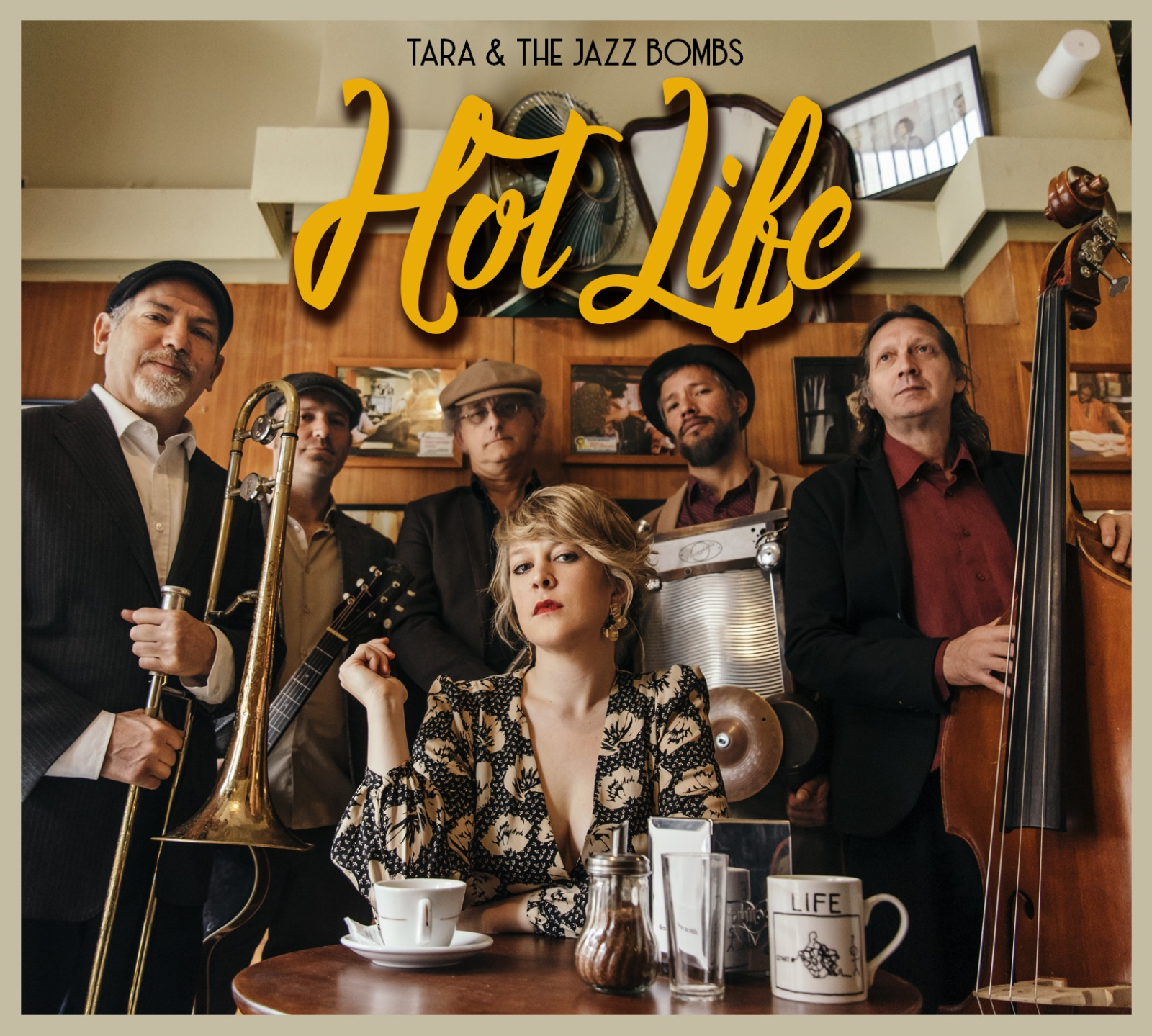 Tara & The Jazz Bombs presenta el EP Hot Life