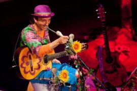 El cantautor Arístides Moreno
