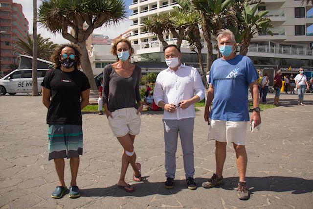 El Cabildo promociona la Tenerife Bluetrail a través de un corto protagonizado por Yaiza Guimaré