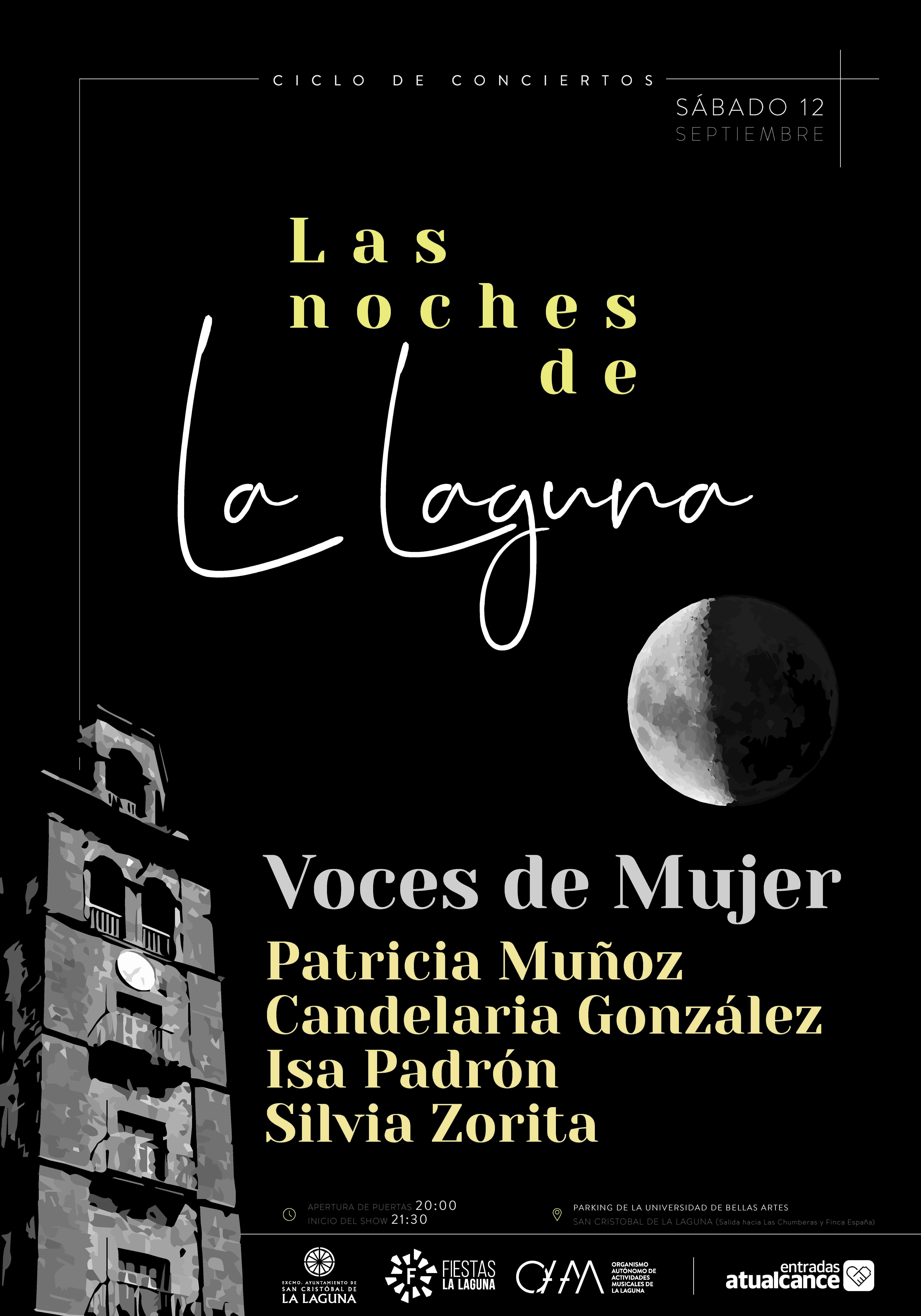 Las Noches de La Laguna acogen este fin de semana dos nuevas propuestas musicales