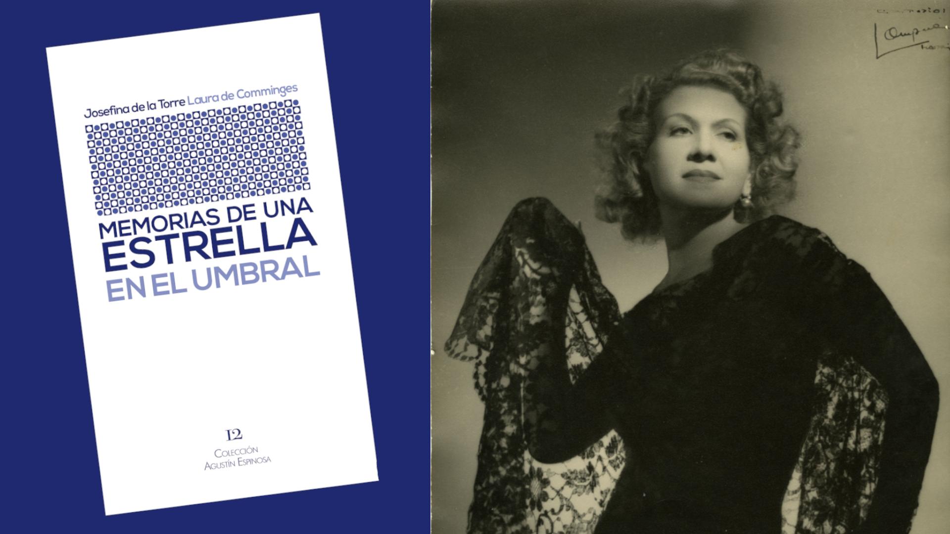 Reeditada Memorias de una estrella, de Josefina de la Torre, 66 años después