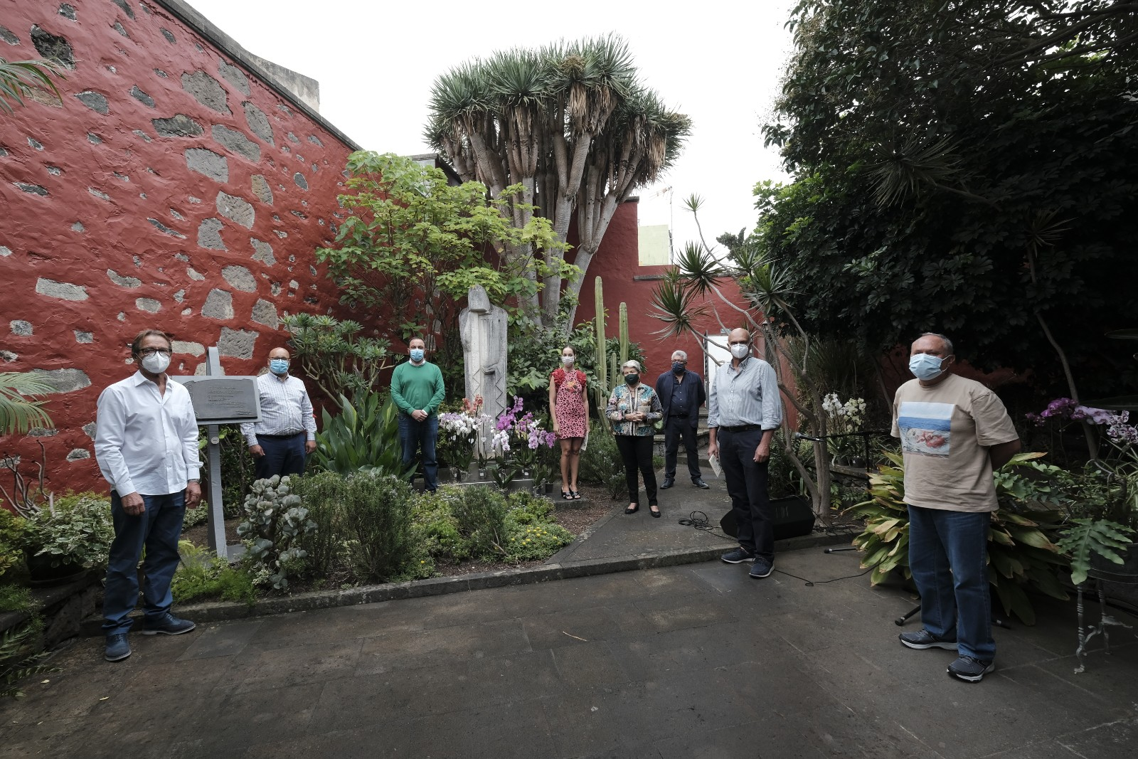 El 136 cumpleaños de Tomás Morales abrió el centenario de su fallecimiento que se cumple en 2021