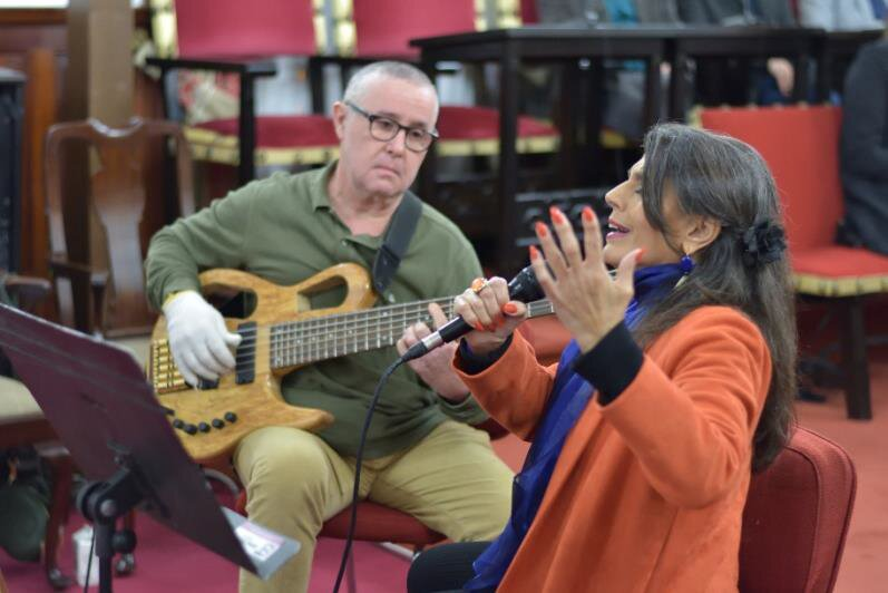 Luisa Machado y Alberto Méndez protagonizan la segunda entrega del ciclo 'Santo Domingo a Dúo'