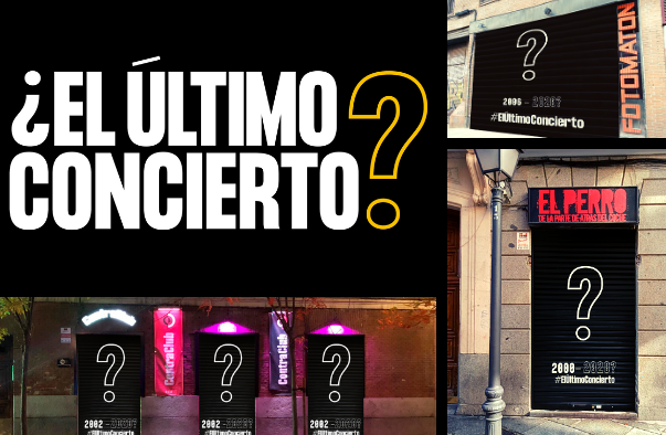 La salas de música en vivo celebran ¿Su último concierto?