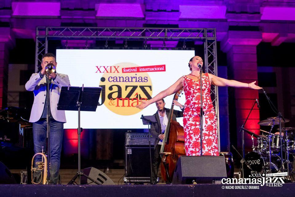 Susana Sheiman y Chano Gil Quartet actúan en la Sala Insular de Teatro (SIT)