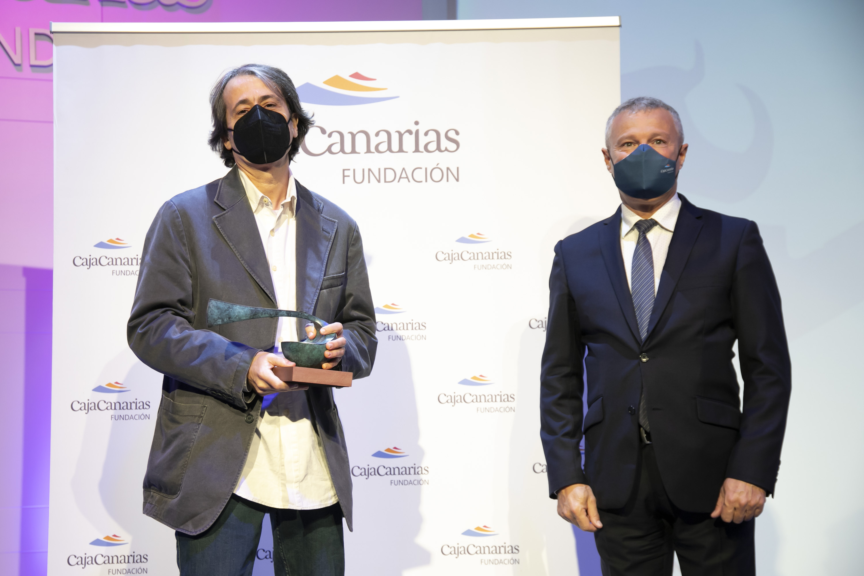 La Fundación CajaCanarias entrega los galardones de sus Premios 2020