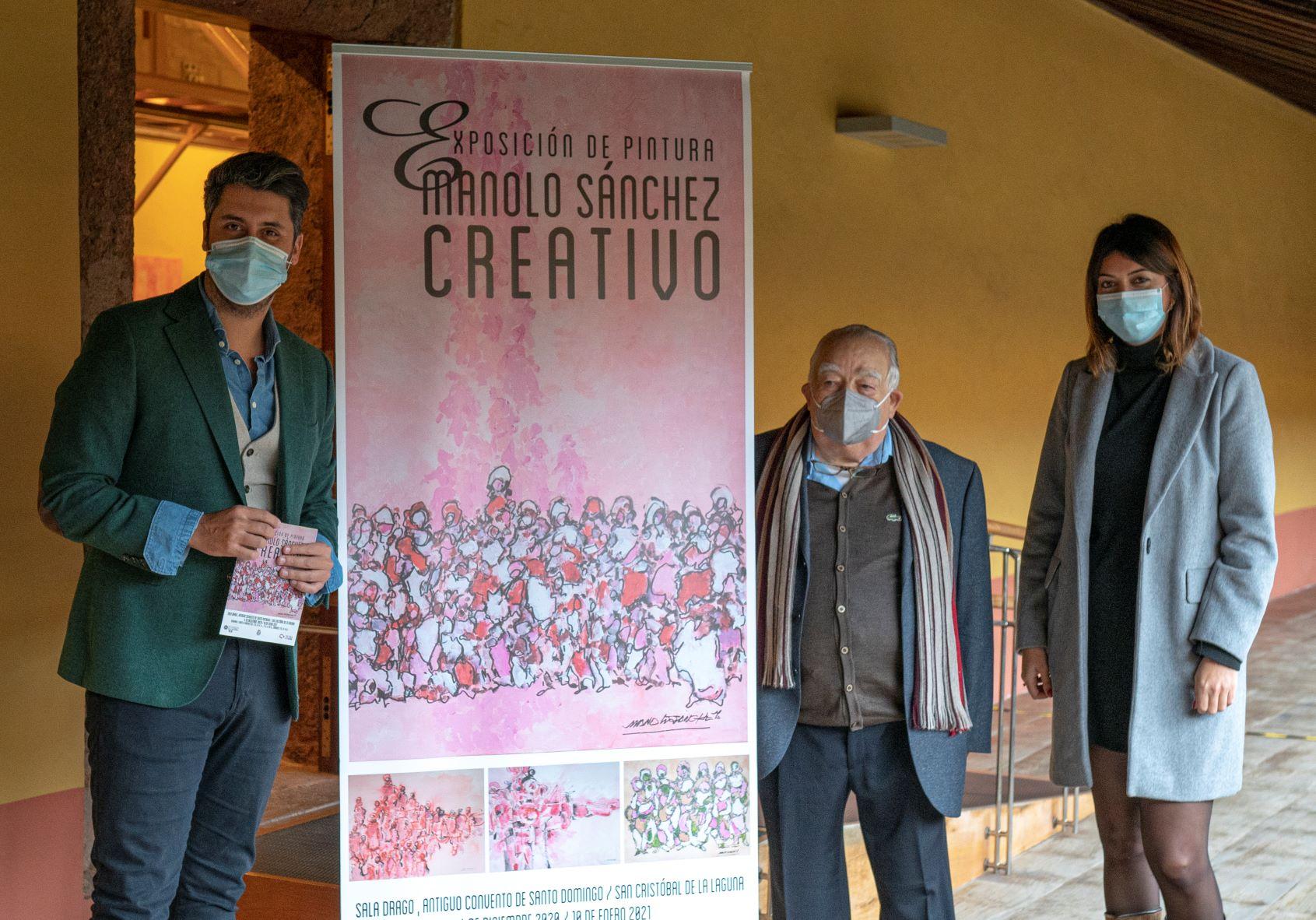 El ex convento de Santo Domingo acoge una muestra del pintor tinerfeño Manolo Sánchez