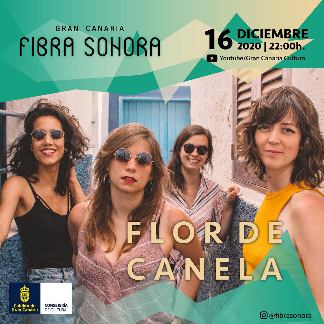 Flor de Canela se suma a Gran Canaria Fibra Sonora