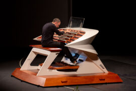 20210119 Concierto de órgano en 2018 con Juan de la Rubia (detalle consola)