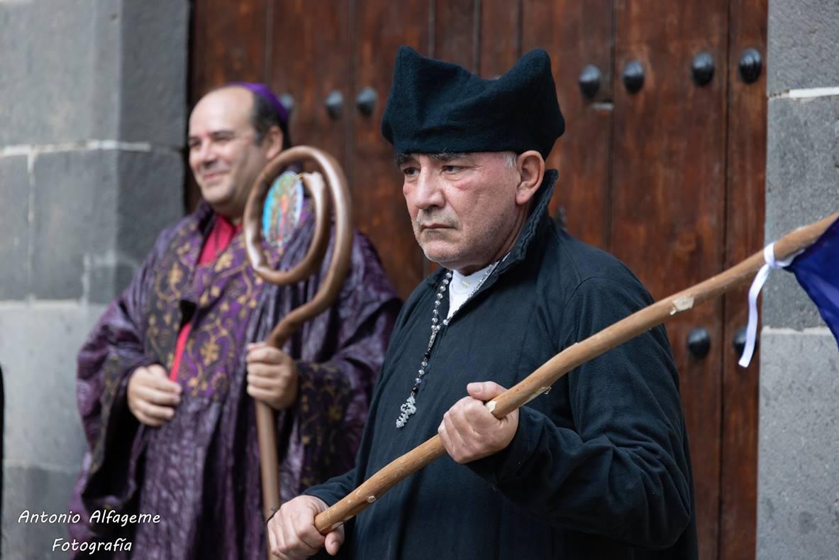 Recreación en verso de La batalla de Las Palmas en la Casa de Colón