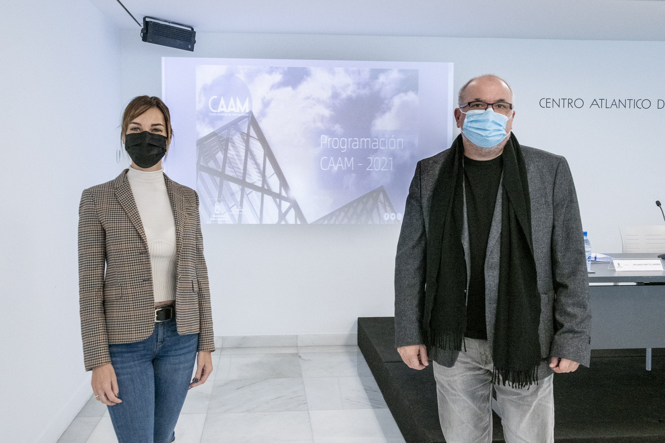 La obra del pintor palmero José Martín vertebra la programación del CAAM 2021
