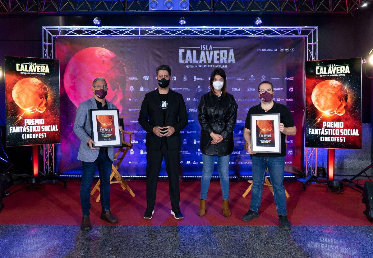 El Festival de Cine Fantástico de Canarias premia a Cinedfest